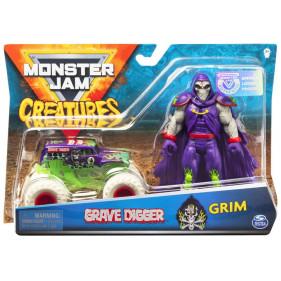 Monster Jam - 1:64 Monster Jam + Creatures Grim