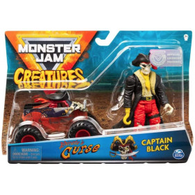 Monster Jam - 1:64 Monster Jam + Creatures Captain Black