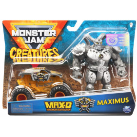 Monster Jam - 1:64 Monster Jam + Creatures Maximus