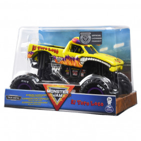 Monster Jam - 1:24 Collector Monster Jam Trucks : El Toro Loco Yellow