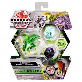 Bakugan Starter Pack Saison 2 - Gate Trainer Vert