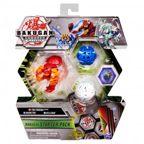 Bakugan Starter Pack Saison 2 - Gate Trainer Rouge