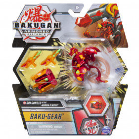 Baku-Gear Saison 2 Dragonoid Rouge