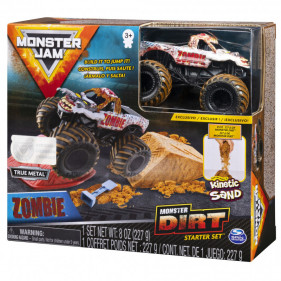 Monster Jam Kinetic Dirt Starter Set : Zombie