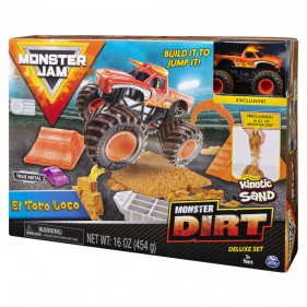 Monster Jam Kinetic Dirt Deluxe Sets : El Toro Loco