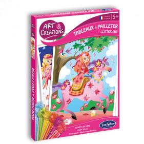Art & Créations TABLEAUX A PAILLETER - CONTES DE FEES