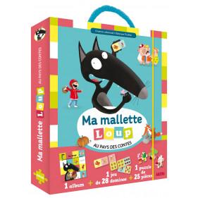 Coffret - MA MALLETTE LOUP AU PAYS DES CONTES