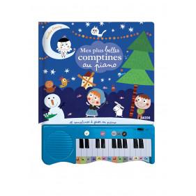 Livres Piano - MES PLUS BELLES COMPTINES AU PIANO - 15 COMPTINES À JOUER AU PIANO