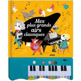 Livres Piano - MES PLUS GRANDS AIRS CLASSIQUES