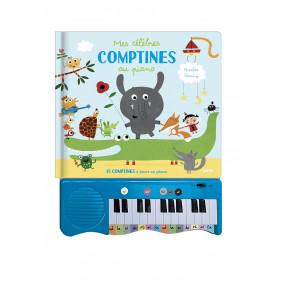 Livres Piano - MES CÉLÈBRES COMPTINES AU PIANO