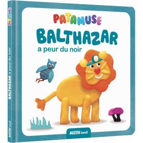 Livre Pâte à modeler - PATAMUSE - BALTHAZAR A PEUR DU NOIR