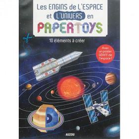 PAPERTOYS - LES ENGINS DE L'ESPACE ET L'UNIVERS EN PAPERTOYS