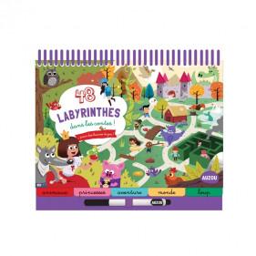 DIVERS ACTIVITES - 48 LABYRINTHES DANS LES CONTES