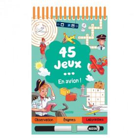 DIVERS ACTIVITES - 45 JEUX EN AVION !