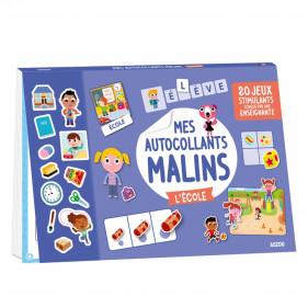 DIVERS ACTIVITES - MES AUTOCOLLANTS MALINS - L'ÉCOLE