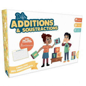 Jeux éducatifs - DÉFIS ADDITIONS ET SOUSTRACTIONS