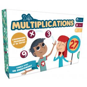Jeux éducatifs - DÉFIS MULTIPLICATIONS