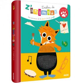 DIVERS EVEIL- DRÔLES DE Z'ANIMAUX A TOUCHER - LES ANIMAUX DE LA FORET ET DE LA JUNGLE