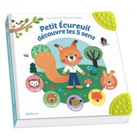 DIVERS EVEIL- PETIT ÉCUREUIL DÉCOUVRE LES 5 SENS