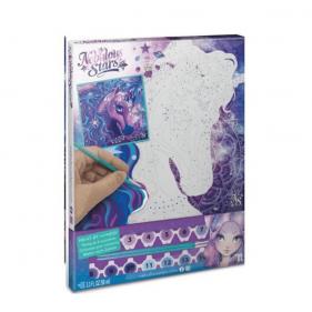 Peinture à numéros sur toile - Nebulia & Horse