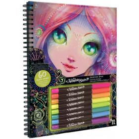 Livre de coloriage - Livre de coloriage à pages noires