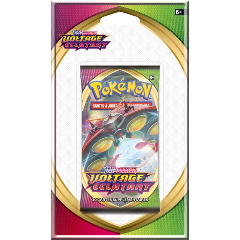 """Pokémon Épée et Bouclier 04 """"Voltage Éclatant"""" : Booster (Blister)"""