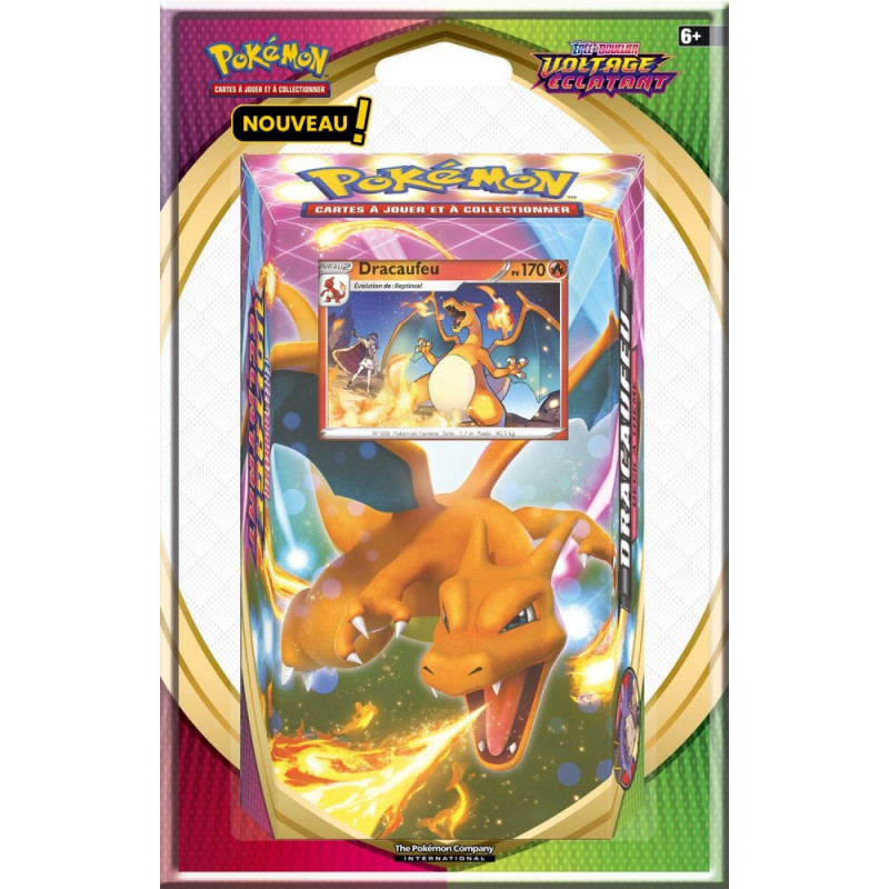 """Pokémon Épée et Bouclier 04 """"Voltage Éclatant"""" : Starter (Blister)"""