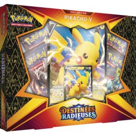 Pokémon : Coffret Destinées Radieuses Pikachu-V