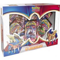 Pokémon : Coffret (6 Boosters Epée & Bouclier)