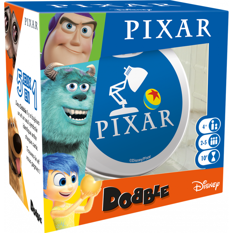Dobble Pixar Disney