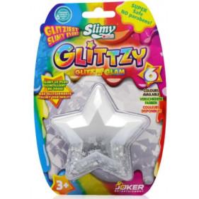 SLIMY GLITTZY Diamond - 60 g - Blanc