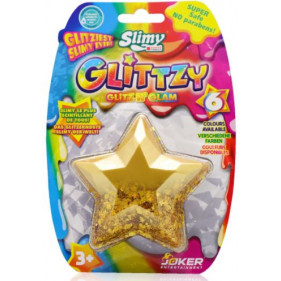 SLIMY GLITTZY Diamond - 60 g - Jaune