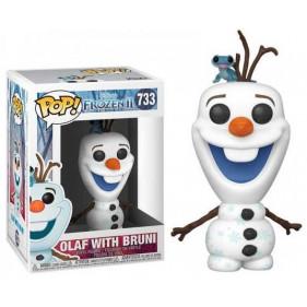 Frozen 2 : POP Disney: Frozen 2 - Olaf w/Bruni