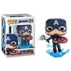Marvel : Captain America w/BrokenShield&Mjolnir