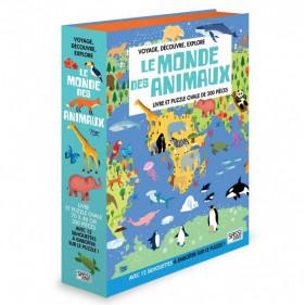 Puzzle silhouette - Le Monde des Animaux