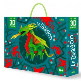 Puzzle 3D : Le dragon 3D