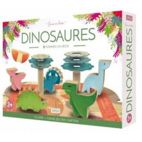 Jeux en bois - Dinosaures