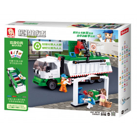 Garbage truck + card game