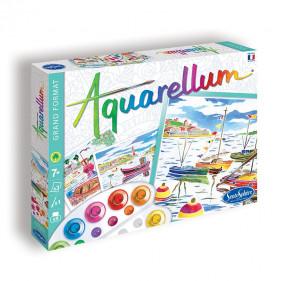 """AQUARELLUM """"Ports de Pêche"""""""
