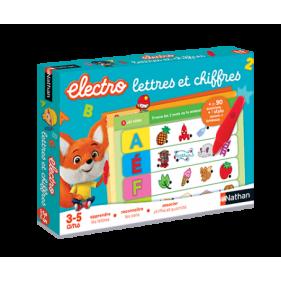 Electro lettres et chiffres 2.0