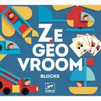 Jeux éducatifs pour enfants - Jeu de construction - Ze Geo Vroom - Livraison rapide Tunisie