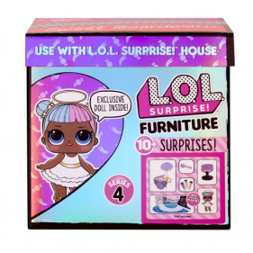 L.O.L. Surprise Furniture with Doll Asst in PDQ Wave 3 - Série 4