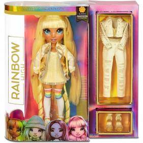 Rainbow High Fashion Doll- Sunny Madison (Yellow)