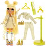 Jeux d'imagination pour enfants - Rainbow High Fashion Doll- Sunny Madison (Yellow) - Livraison rapide Tunisie