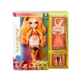 Rainbow High Fashion Doll- Poppy Rowan (Orange) Série 1