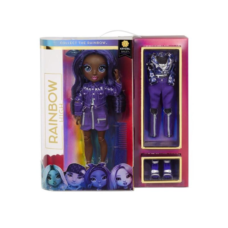 Rainbow High Fashion Doll- Krystal Bailey (Indigo)