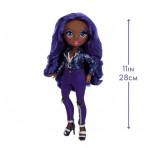 Jeux d'imagination pour enfants - Rainbow High Fashion Doll- Krystal Bailey (Indigo) - Livraison rapide Tunisie