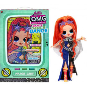 L.O.L. Surprise OMG Dance Doll- Major Lady