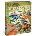 Loisirs créatifs pour enfants - DinosArt : Strass par numéro DinosArt - Livraison rapide Tunisie