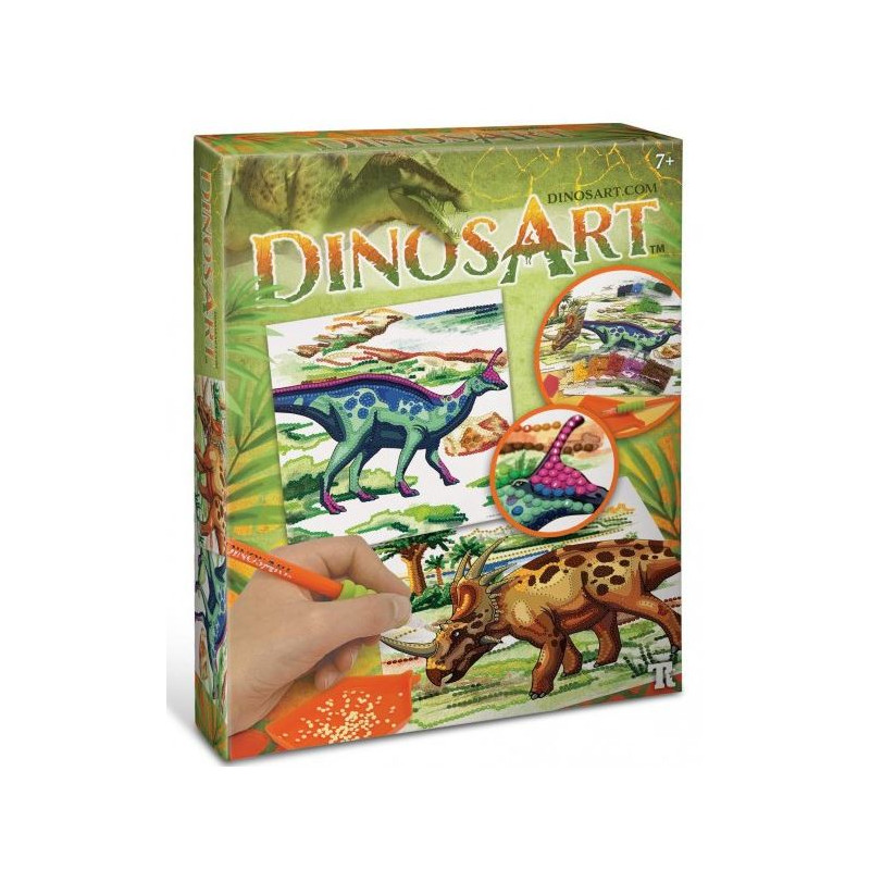 DinosArt : Strass par numéro DinosArt